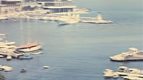 Hercule port Monte - carlo arkivfilmer
