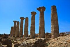 Hercule temple - Agrigento Royalty Free Stock Image