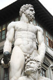 Hercule y Cacus en Florencia Foto de archivo libre de regalías