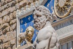 Hercules στο τετράγωνο Signoria στη Φλωρεντία, Ιταλία Στοκ φωτογραφία με δικαίωμα ελεύθερης χρήσης