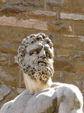 Hercules. Bust of Hercules in Florence from Bandinelli Royalty Free Stock Images