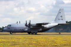 Γ-130 Hercules Στοκ εικόνες με δικαίωμα ελεύθερης χρήσης