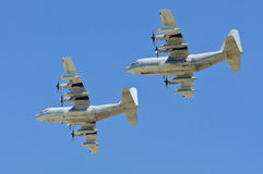 United States Hercules military airplanes Stock Photo