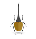 Hercules Beetle Insect Vector. Illustration Royalty Free Illustration