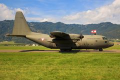 Hercules C130 imagens de stock royalty free