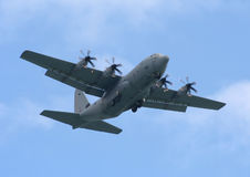 Hercules c 130j. The C 130 Hercules aircraft Royalty Free Stock Image