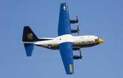 Hercules C-130. Fat Albert   at Wings Over South Texas Air Show, kingsville , Texas Royalty Free Stock Photos