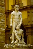 Hercules and Cacus - Florence Stock Photo