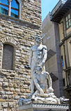 Hercules and Cacus,Florence,Italy. Statue of Hercules and Cacus,piazza della signoria,Florence,Italy Royalty Free Stock Photo