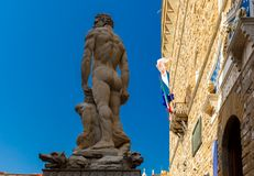 Hercules and Cacus in Florence, Italy royalty free stock photos