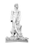 Hercules and Cacus Isolated Royalty Free Stock Photos