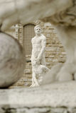 Hercules and Cacus sculpture Stock Photography