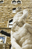 Hercules and Cacus sculpture Royalty Free Stock Photography