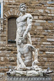 Hercules and Cacus statue Stock Photography