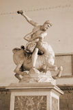 Hercules and the Centaur Nessus Stock Photography