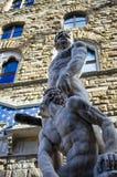 Hercules e Cacus Imagens de Stock