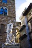 Hercules en Cacus van Bartolommeobandinelli Stock Afbeeldingen