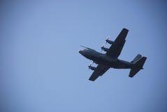 Hercules Flying encima Fotos de archivo libres de regalías