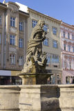 Hercules Fountain - Olomouc, Czech republic Stock Photos