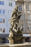 Hercules Fountain - Olomouc, Czech republic Stock Photo
