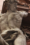 Hercules (fragment of the statue) Royalty Free Stock Photography