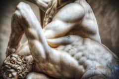 Hercules i Nesso centaura statua Zdjęcia Royalty Free
