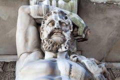 Hercules jako Atlant Fotografia Stock
