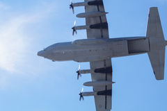 130 γ Hercules lockheed Στοκ Φωτογραφίες