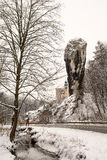 Hercules Mace in Pieskowa Skala (Polen) Stock Afbeeldingen