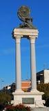 Hercules monument, Ecija, Spain. Royalty Free Stock Images
