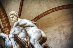 Hercules and Nesso centaur statue Royalty Free Stock Image