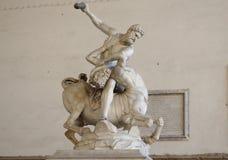 Hercules Nessus i centaur Fotografia Stock