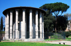 hercules rome tempelvictor Royaltyfri Fotografi