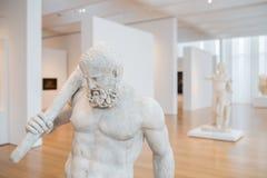 Hercules Sculptures in Carolina Museum del nord di arte Fotografia Stock