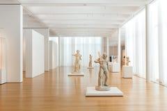 Hercules Sculptures in Carolina Museum del nord di arte Fotografia Stock Libera da Diritti