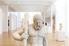 Hercules Sculptures in Carolina Museum del nord di arte Fotografie Stock Libere da Diritti