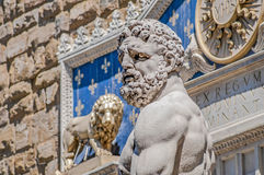 Hercules at Signoria square in Florence, Italy Royalty Free Stock Photo