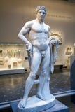 Hercules statue. NEW YORK, NY - APRIL 10: Statue of Hercules, greek myth hero located inside the Metropolitan Museum.  Taken April 10, 2009 in New York City Royalty Free Stock Photography