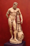Hercules Statue. Ancient Roman stone statue of Hercules Royalty Free Stock Images