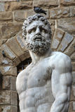 Hercules statue in Florence, Italy Royalty Free Stock Images