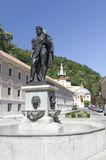 Hercules statue. From Herculane resort, Romania Stock Photography