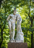Hercules statue in the park Royalty Free Stock Photos