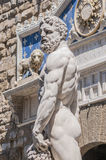 Hercules statue at Signoria square in Florence, Italy Royalty Free Stock Photography