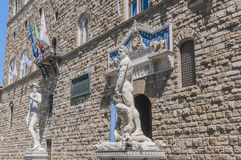 Hercules statue at Signoria square in Florence, Italy Stock Photography