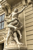 Hercules Statue - Vienna, Austria Royalty Free Stock Photography