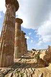 hercules tempel Royaltyfri Fotografi