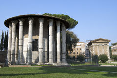 hercules tempelvictor Arkivfoto