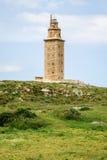 Hercules torn, Torre de Hercules, Royaltyfri Bild