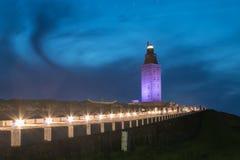 Hercules Tower Lizenzfreie Stockfotos