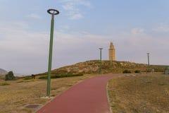 Hercules Tower Arkivfoto
